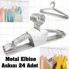 Elbise Askısı Metal Elbise Askısı 24 Adet