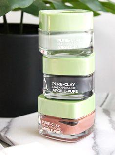 L'Oreal Paris Pure-Clay Masks, Revitalift Bright Reveal