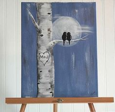 Image result for easy painting ideas for beginners on canvas