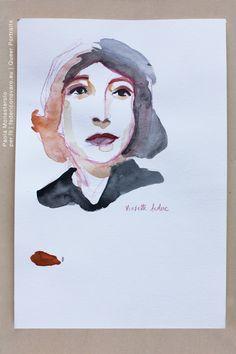 VIOLETTE LEDUC, di Paola Monasterolo. QUEER PORTRAITS, 21. - feat. Federico Boccaccini www.federiconovaro.eu