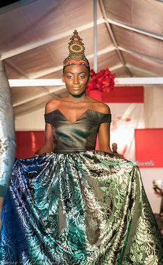 Carrousel, Congo, Fashion Designers, Creations, One Shoulder, Sari, Formal Dresses, Photos, Fashion 2018