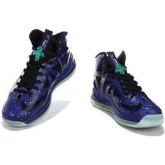 huge selection of 58959 31605 Nike Lebron 10 Galaxy Shoes Glow in the Dark 541100 001 Lebron 4, Nike  Lebron