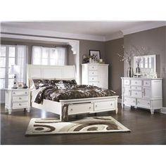 UPPER BEDROOM SET....Millennium Prentice King Bedroom Group - Item Number: B672 K Bedroom Group 2
