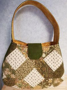 Say hello to our latest bag pattern - The Lattice Bag. Latest Bags, Say Hello, Sewing Patterns, Fabric, Tejido, Tela, Cloths, Fabrics, Patron De Couture