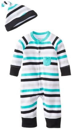 Offspring - Baby Apparel Baby-Boys Newborn Zebra Stripe Coverall and Hat, Multi Stripe, 3 Months Offspring http://www.amazon.com/dp/B00H40QL1Q/ref=cm_sw_r_pi_dp_GD58tb1KBECVQ