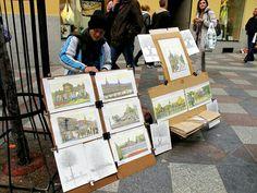 En arte en las calles