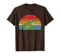 Check this Frog Shirt Retro Vintage Frog Animal TShirt . Hight quality products with perfect design is available in a spectrum of colors and sizes, and many different types of shirts! Frog Life, Frog T Shirts, Branded T Shirts, Types Of Shirts, Retro Vintage, T Shirts For Women, Sweatshirts, Mens Tops, Astronomy