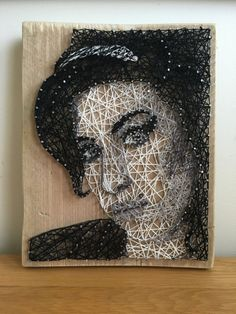 Amy Winehouse String Art Portrait by StringsByAshley on Etsy