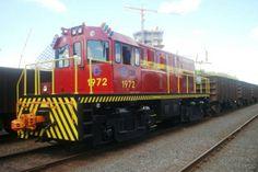 Museu Ferroviário Virtual - Locomotiva fabricada no Brasil e operada pela Companhia Siderúrgica Nacional
