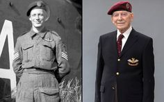 In pictures: Veterans recall their roles in the D-Day landings, 92 Denzil Cooper served in the Glider Pilot Regiment and flew as co-pilot of a Horsa glider transporting troops of the Ox and Bucks Light Infantry. L