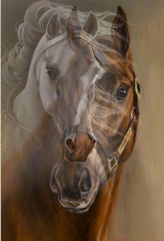 #doublexposure#horses