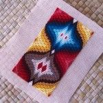 Estimating Thread Quantities for Bargello Needlepoint Projects