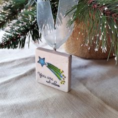 Shooting Star Ornament by My Little Chickadee Creations