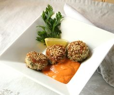 Quinoa Cakes with Cr