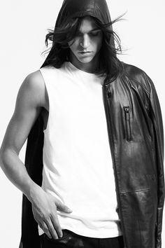 Miles McMillan for Karl Lagerfeld S/S 15 Men's Lookbook