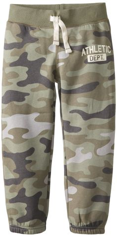 Amazon.com: Carter's Little Boys' Fleece Pants (Toddler/Kid) - Camo: Clothing