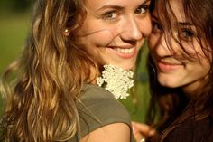 Look at their smiles, their shimmering hair in the summer sun, and the sparkle in their eyes. Yep, women are pretty amazing creatures! ... Beautiful!