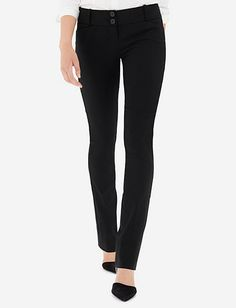 Exact Stretch Straight Leg Pants from THELIMITED.com
