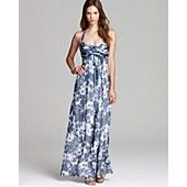 Amsale Halter Dress - Printed