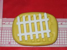 Fence Push Mold Food Safe Silicone Cake Chocolate Resin Polymer Clay A551 Soap #LobsterTailMolds