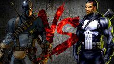 ДЕФСТРОУК против КАРАТЕЛЯ   DEATHSTROKE vs PUNISHER [CT Fight Club   DC ...