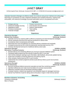 Technical Recruiter Resume Example | interview tips | Pinterest ...