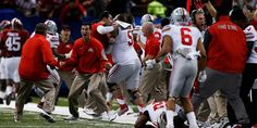 O-Zone: great reaction pic (pic) Ohio State Gear, Ohio State Football, Ohio State University, Ohio State Buckeyes, Espn College Football, Buckeyes Football, Buckeye Sports, Amherst Ohio, National Championship