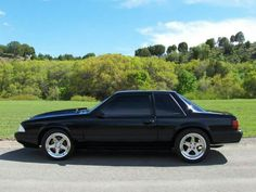 Notch Back Bitch! Fox Body Mustang, Mustang Cars, Ford Mustang Gt, Blue Mustang, Modern Muscle Cars, American Muscle Cars, Notchback Mustang, Ford Fox, Pony Car