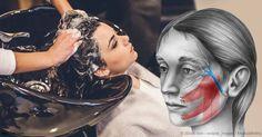 El servicio de lavado de cabello en el salón de belleza podría causar el síndrome de derrame cerebral en salón de belleza.