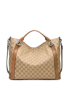 GUCCI Miss GG Original Canvas Top Handle Bag