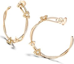 Yves Piaget Swiss jeweler, roses blossom brand of rings, necklaces, earrings from new collection Rose Passion.