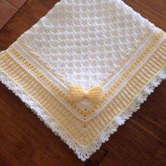 "Ravelry: Brooklyn Baby Blanket - 35"" x 35"" by Asher Blu Designs"