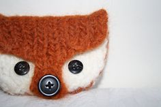 SO ADORABLE! DIY Felted Fox Coin Purse Knitting Pattern PDF by OwlPrintPanda, £2.20