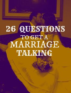 questions for a marriage