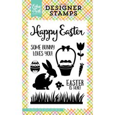 Now available at Kat Scrappiness.com Celebrate Easter ...!  More info here:  http://www.katscrappiness.com/products/celebrate-easter-easter-is-here-4x6-clear-stamps-by-echo-park?utm_campaign=social_autopilot&utm_source=pin&utm_medium=pin