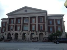 Liberty County Court House.  Hinesville, Georgia. Paul Chandler July 2014.