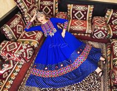 #blue  #afghani #dress #style #afghan #jewelry                                                                                                                                                                                 More