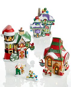 Department 56 North Pole Village Collection