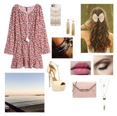 Boardwalk Date at the Beach by abby-walker02 on Polyvore featuring H&M, Steve Madden, Charlotte Russe, ASOS, Casetify and maurices
