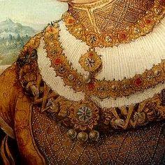 Princess Maria Jacob, (detail), Hans Wertinger, (1470-1533)