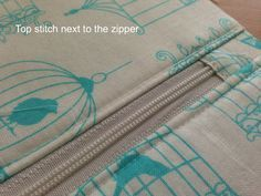 """I am excited to share the pattern for my """"Favorite Zipper Pouch"""". I love my fabrics from xo.gigi fabrics! I needed a few gifts and whipped up some zipper pouches. I h…"""