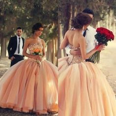 Let charming celtic wedding dress on DHgate.com get your heart. Besides, cheap wedding dresses plus size and chic wedding dresses are also winners.  2014 newest peach colored strapless ball gown floor length luxury beads crystal wedding dresses bridal gowns women custom made em02446 belong to you and shangshangxi can cheer you up.