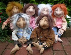 My kind of dolls - loaded with character