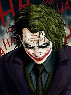 Joker® batman DC comics The beast Joker Cartoon, Joker Comic, Joker Batman, Batman Robin, Der Joker, Heath Ledger Joker, Batman Joker Wallpaper, Joker Wallpapers, Gotham City