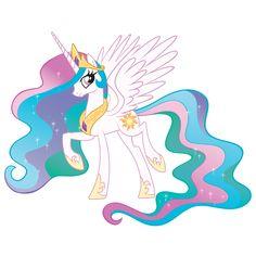 My Little Pony's Princess Celestia #MLPEG