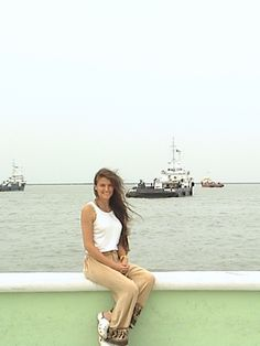 "At the ""Malecón"" in Ciudad del Carmen, Campeche <3"