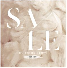 sale typography BHLDN - simple use of type amp; Newsletter Layout, Email Newsletter Design, Newsletter Ideas, Email Marketing Design, E-mail Marketing, Business Marketing, Minimal Web Design, Sale Banner, Web Banner