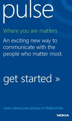 7. favorite app Nokia Pulse, being social means more than just Facebook #amazingfinds