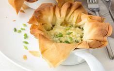 Çıtırdatalım mı: Peynirli Yufka Çanakları Tarifi - Yemek.com
