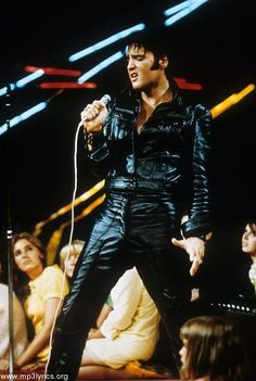 Elvis...'68 Comeback Special...somethin abt that black leather...